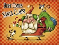 Santa Both Pets Fine-Art Print