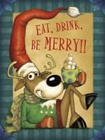Reindeer Cocoa Fine-Art Print