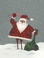 Santa's Bag of Toys Fine-Art Print
