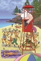 Surf Life Savers Fine-Art Print