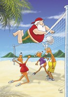Volleyball Front Fine-Art Print