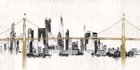 Bridge and Skyline Fine-Art Print