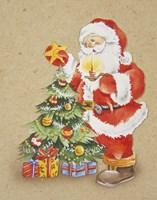 Santa's Christmas Tree Star Fine-Art Print