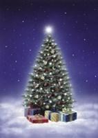 Winter Christmas Tree II Fine-Art Print