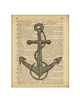 Nautical Series - Anchor Fine-Art Print