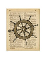 Nautical Series - Ship Wheel Fine-Art Print