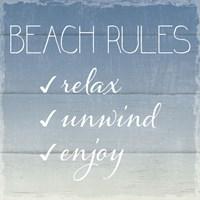 Beach Rules Fine-Art Print