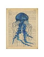 Vintage Jellyfish Fine-Art Print