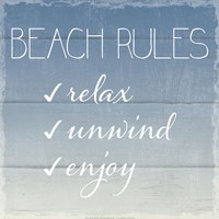 Beach Rules Fine-Art Print