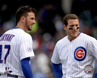 Kris Bryant & Anthony Rizzo 2015 Action Fine-Art Print