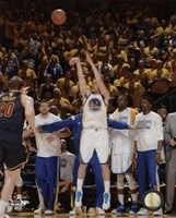 Klay Thompson Game 1 of the 2015 NBA Finals Fine-Art Print