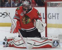 Corey Crawford Game 3 of the 2015 Stanley Cup Finals Fine-Art Print