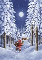 Santa's Trail Fine-Art Print