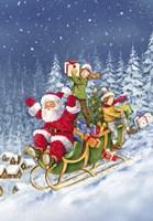 Ride Santa Ride Fine-Art Print