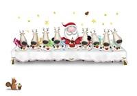 Santa's Cupcake Supper Fine-Art Print