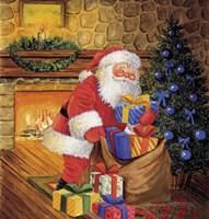 Santa's Christmas Blues Fine-Art Print