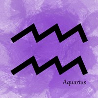 Aquarius - Violet Fine-Art Print