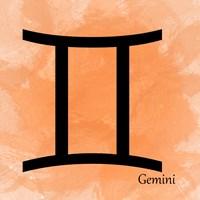 Gemini - Orange Fine-Art Print
