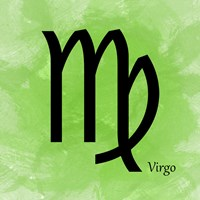 Virgo - Green Fine-Art Print
