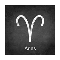 Aries - Black Fine-Art Print
