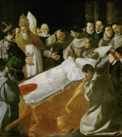 Death of Saint Bonaventura, 1627 Fine-Art Print