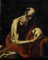 Saint Jerome Meditating Fine-Art Print