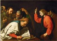 Twelve Year Old Jesus and the Doctors, c.1630 Fine-Art Print