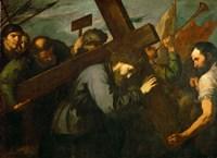 Christ Carrying the Cross, c. 1630 Fine-Art Print