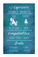 Capricorn Zodiac Sign Fine-Art Print
