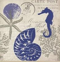 Sea Collage I Fine-Art Print