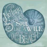Walk on the Beach Fine-Art Print