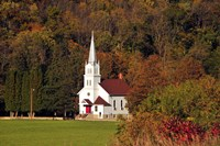 Church In the Valley Fine-Art Print