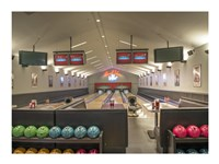 Bowling Center at Mount Vernon Fine-Art Print