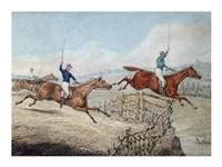 Hunting Scene Fine-Art Print
