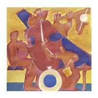 Homage to Mingus Fine-Art Print