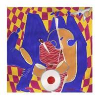Homage to Mingus II Fine-Art Print