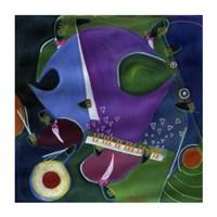 Blue Rondo a la Turk Fine-Art Print