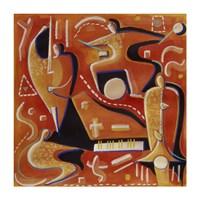 Paul Klee at Birdland Fine-Art Print