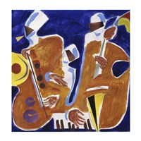 Jazz Collage I Fine-Art Print