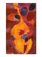 Double Bass, Triple Head Fine-Art Print