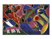 Jazz Singer Fine-Art Print