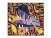Untitled (Abstract Piano) Fine-Art Print