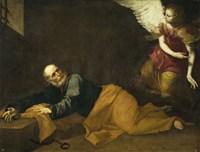 Saint Peter Freed by an Angel, 1639 Fine-Art Print