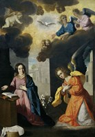The Annunciation, 1638-1639 Fine-Art Print
