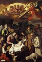 Adoration of the Shepherds, 1638 Fine-Art Print