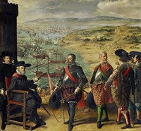 The Defense of Cadiz Against the English (1625) Fine-Art Print