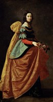 Saint Casilda, 1640 Fine-Art Print