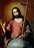 The Savior Blessing. 1638 Fine-Art Print