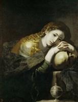 Saint Mary Magdalen Penitent Fine-Art Print