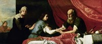 Isaac and Jacob, 1637 Fine-Art Print